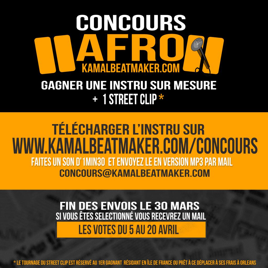 concours instru afro trap