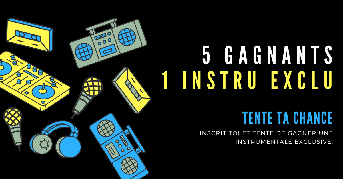 CONCOURS : 5 Instrumentales exclusives à gagner