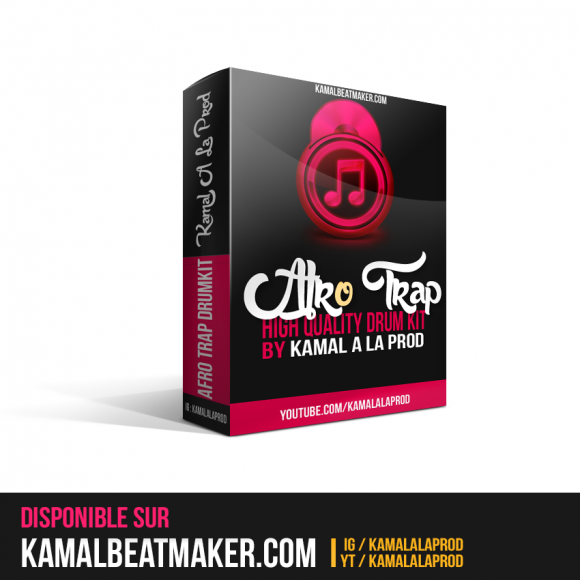 Télécharger Pack Afro Trap Afrobeat Drumkit, Vol 2 By Kamal